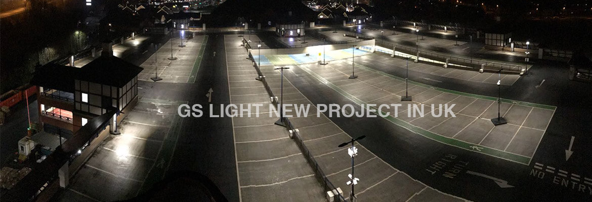 Led lighting project in uk - gs light