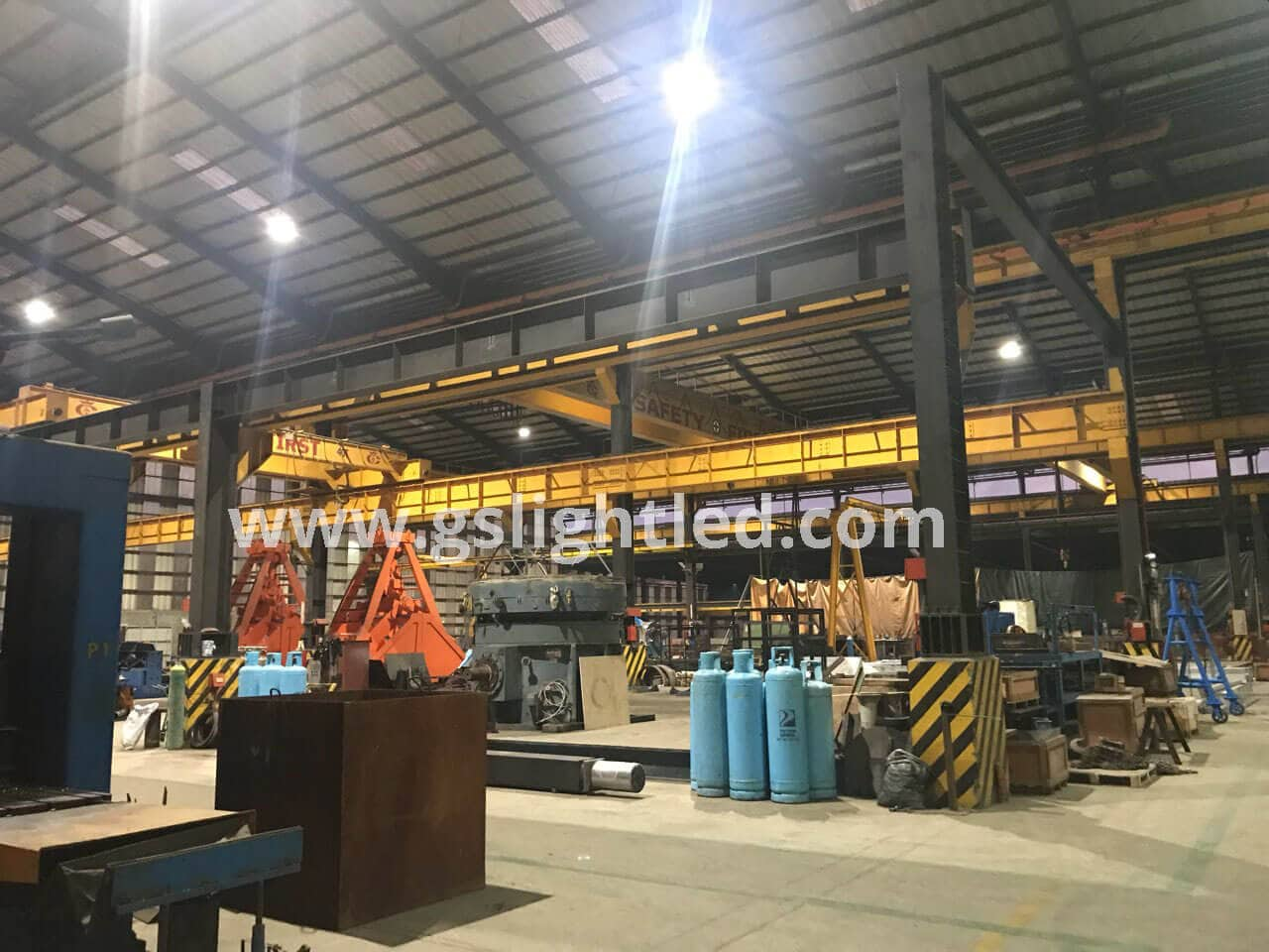 GS LIGHT UFO LED High Bay Light Project in Philippines