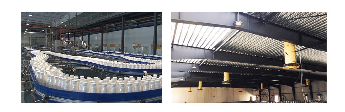 LED high bay light for food Processing factory