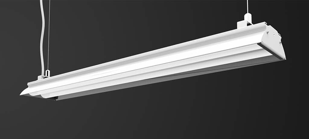led linear light suspension mount