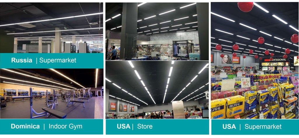 linear led lighting projects